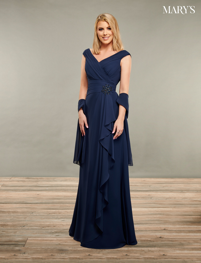 Black Color Mother Of The Bride Dresses - Style - MB8091