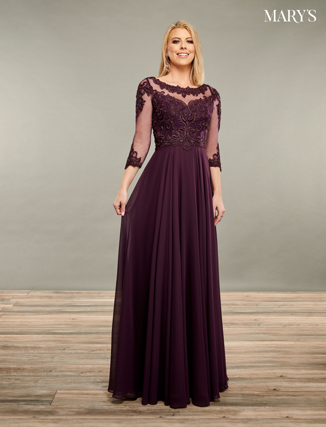 Black Color Mother Of The Bride Dresses - Style - MB8093