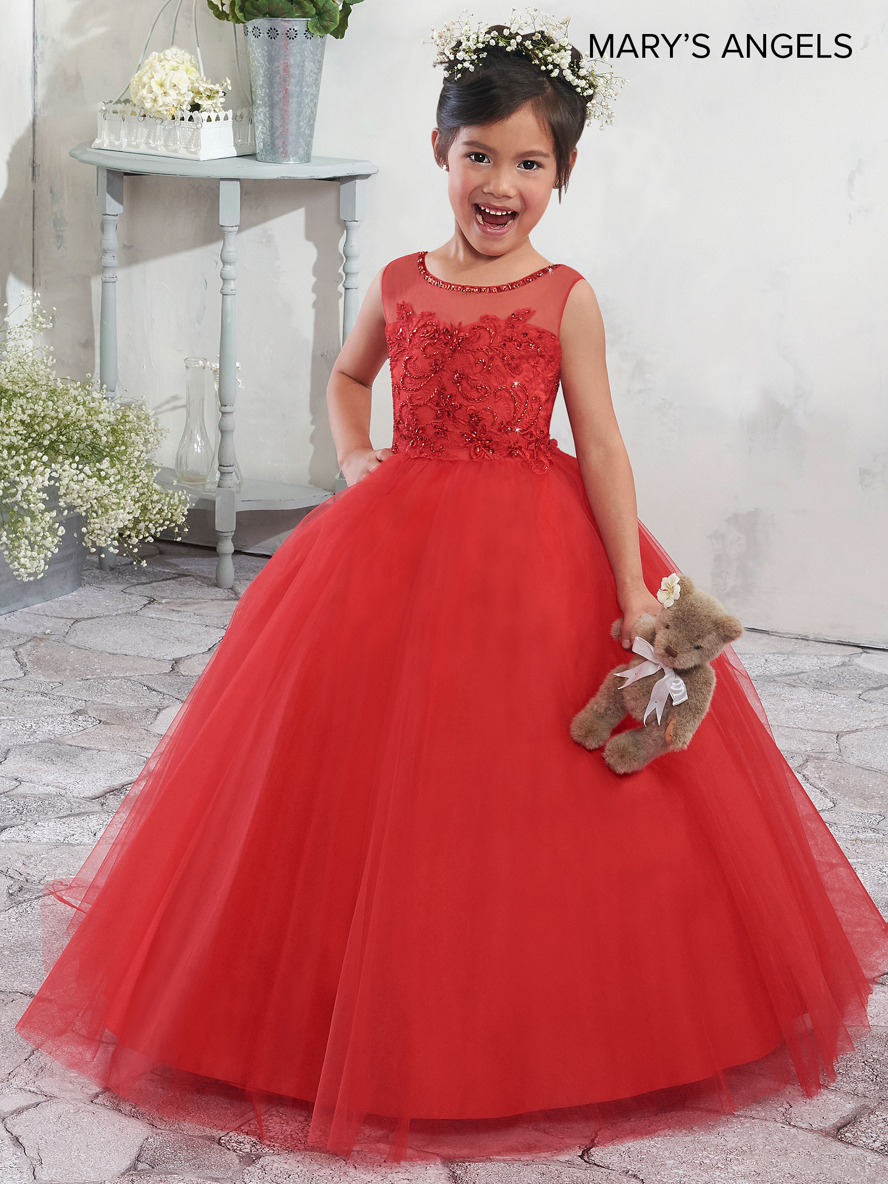 643ac01249e White Red Flower Girl Dresses - Gomes Weine AG