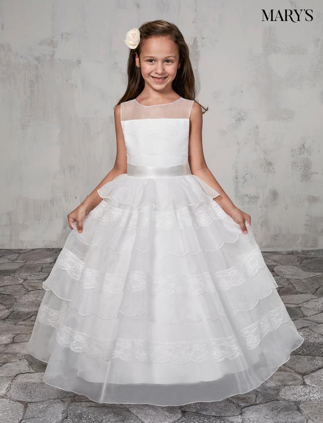 Ivory Color Angel Flower Girl Dresses - Style - MB9004