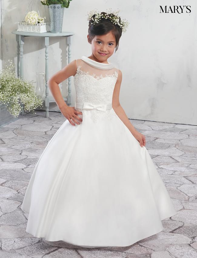 Ivory Color Angel Flower Girl Dresses - Style - MB9007