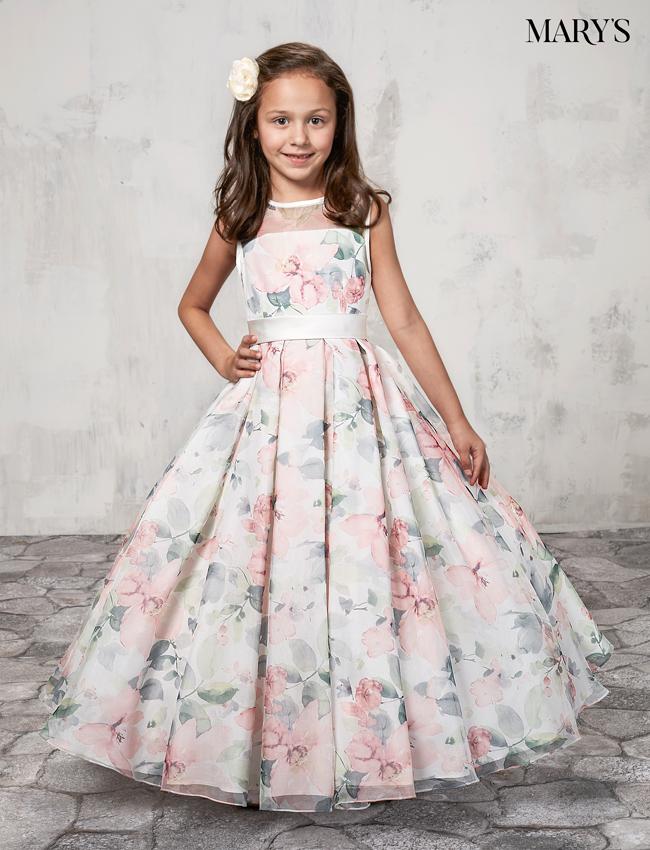 Color Angel Flower Girl Dresses - Style - MB9009