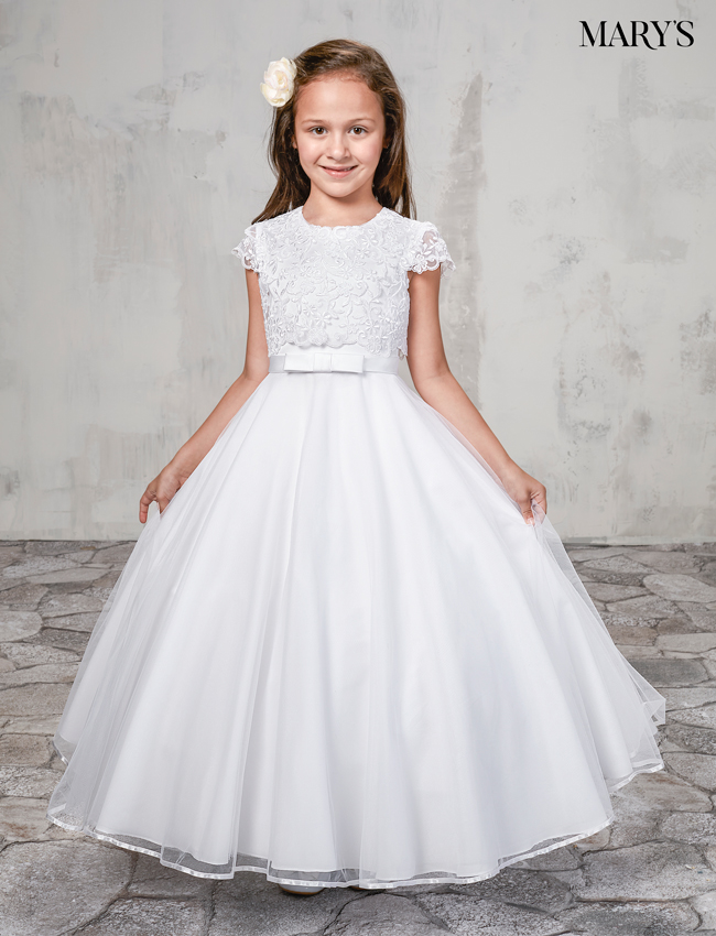 Ivory Color Angel Flower Girl Dresses - Style - MB9011