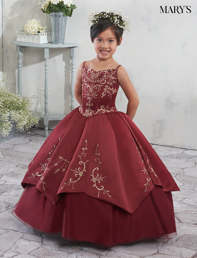 Color Angel Flower Girl Dresses - Style - MB9012