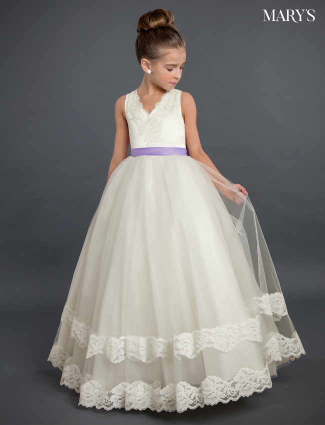 Champagne Color Angel Flower Girl Dresses - Style - MB9019