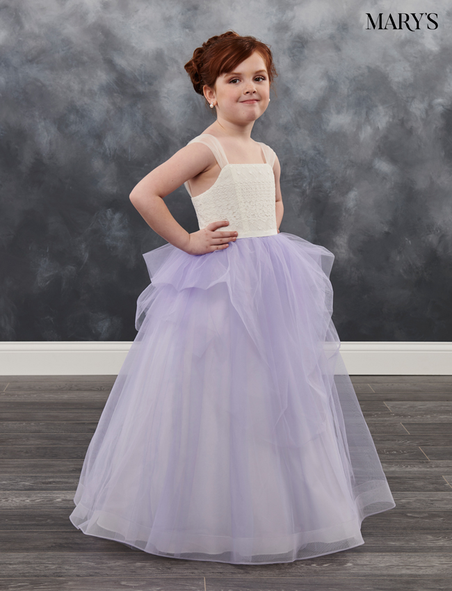 Color Angel Flower Girl Dresses - Style - MB9020