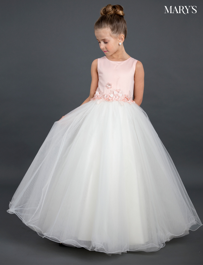 Color Angel Flower Girl Dresses - Style - MB9022