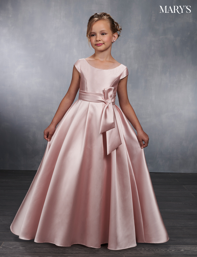 3e7ebaa18b Blush Color Angel Flower Girl Dresses - Style - MB9032