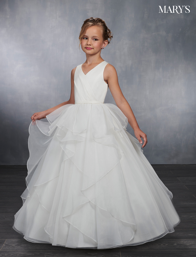 Ivory Color Angel Flower Girl Dresses - Style - MB9033