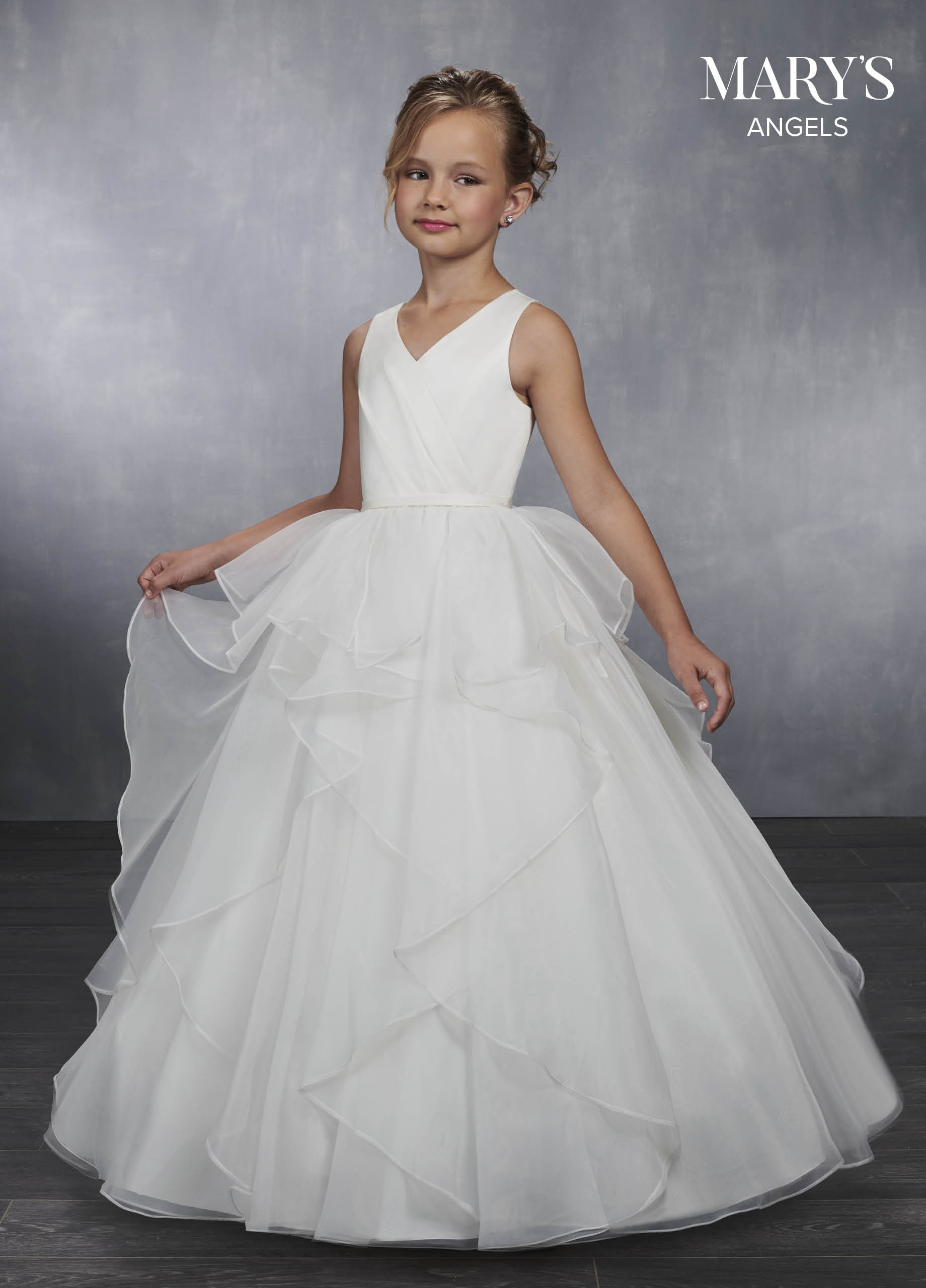 78fdcadfb Angel Flower Girl Dresses | Style - MB9033 in Ivory/Ballet Pink ...