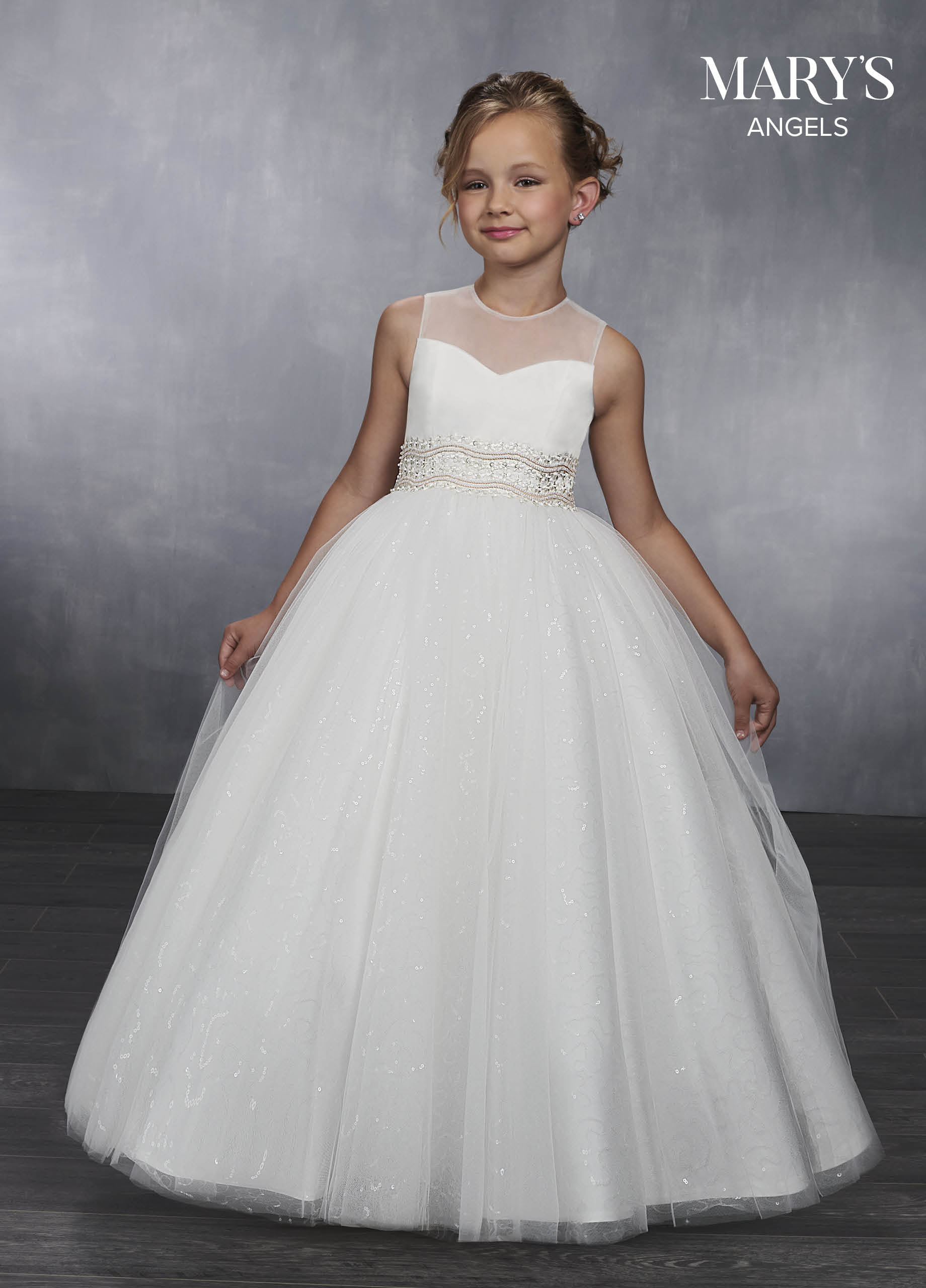 Angel Flower Girl Dresses | Mary's Angels | Style - MB9037