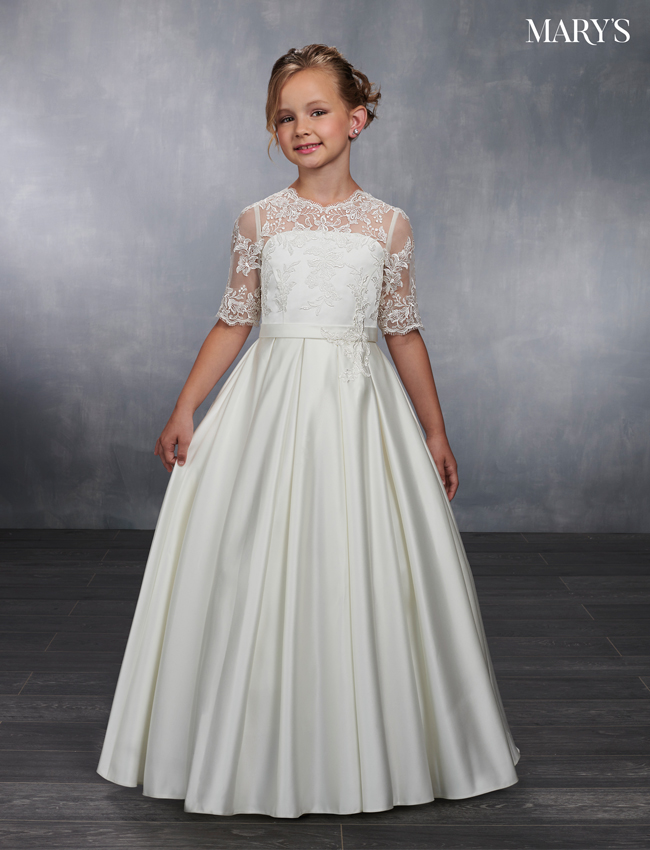 Ivory Color Angel Flower Girl Dresses - Style - MB9039