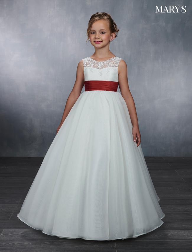 Ivory Color Angel Flower Girl Dresses - Style - MB9042