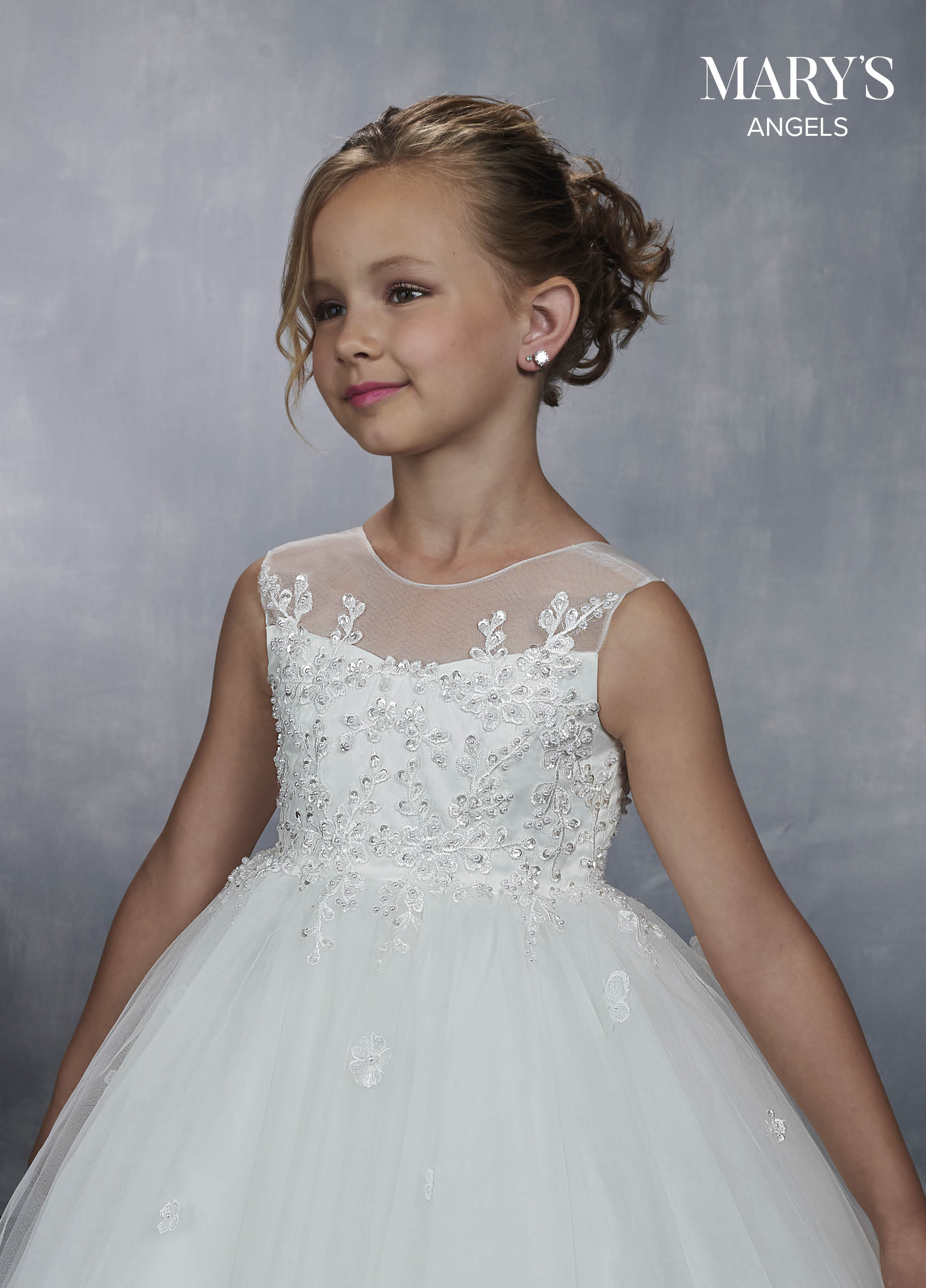 Angel Flower Girl Dresses | Mary's Angels | Style - MB9043
