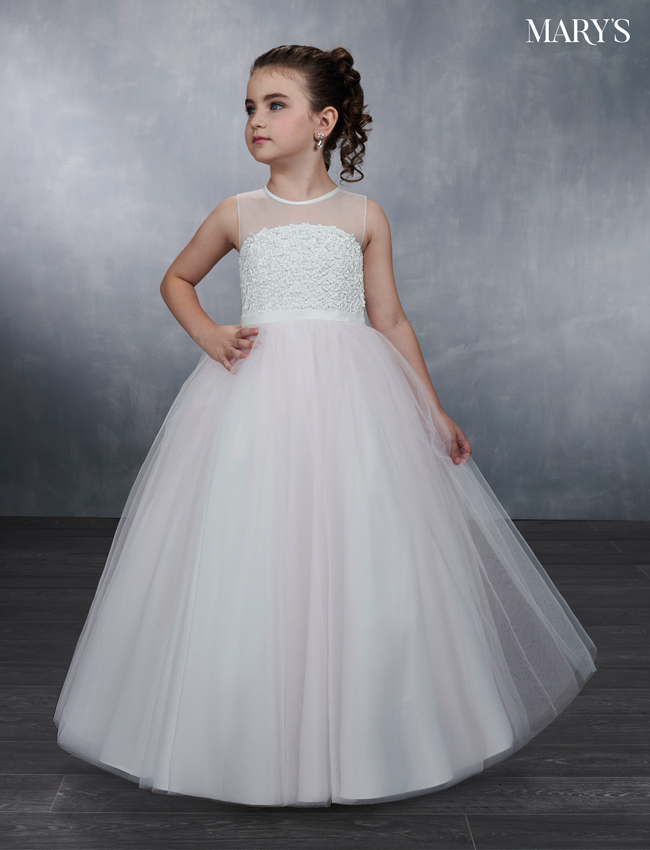 Pink Color Angel Flower Girl Dresses - Style - MB9044