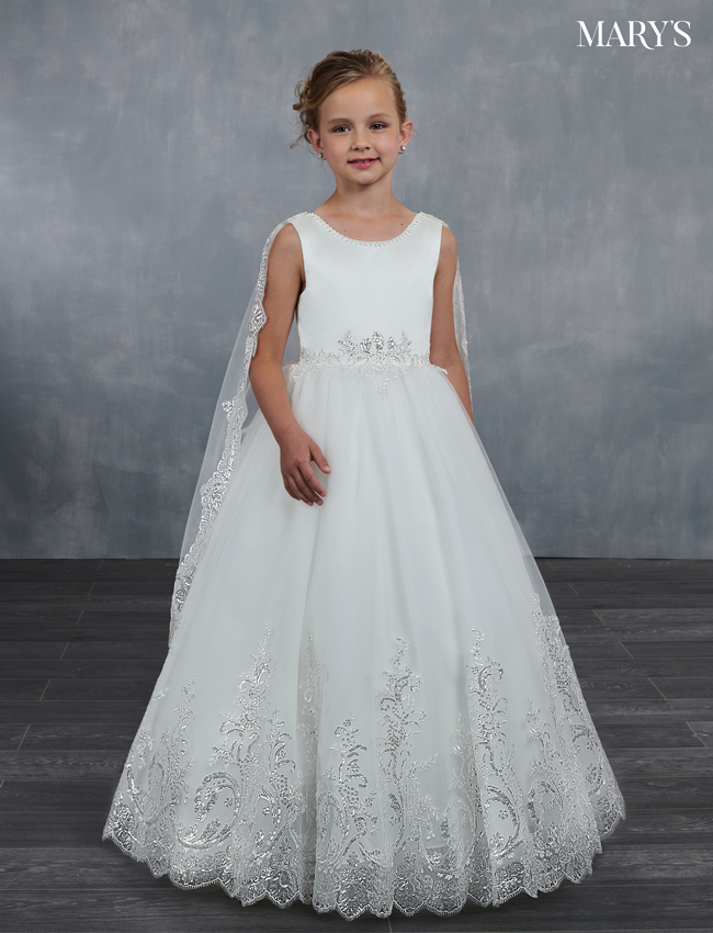 Ivory Color Angel Flower Girl Dresses - Style - MB9046