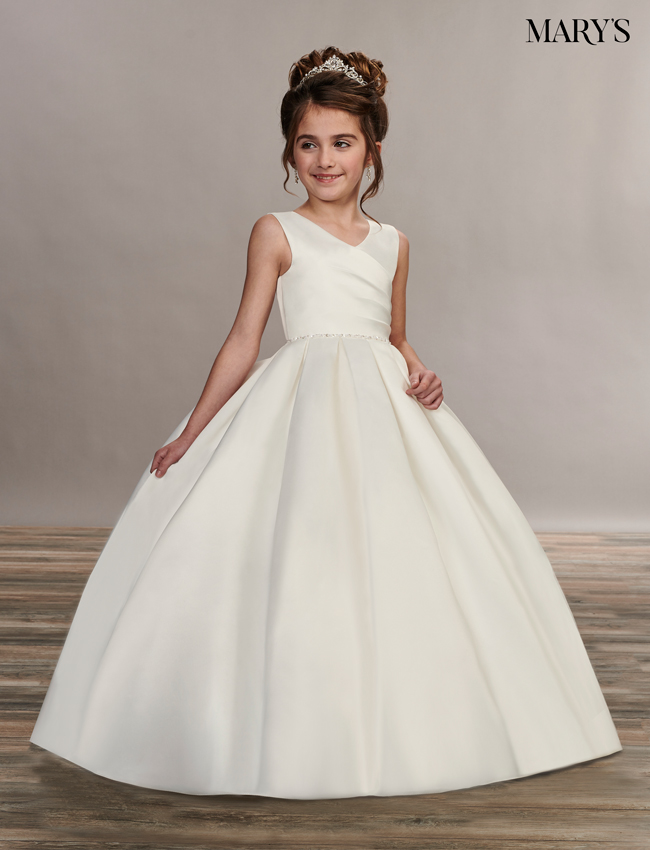 Ivory Color Angel Flower Girl Dresses - Style - MB9049