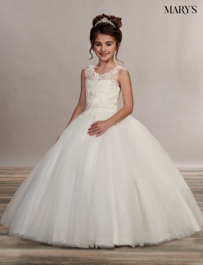 Ivory Color Angel Flower Girl Dresses - Style - MB9050