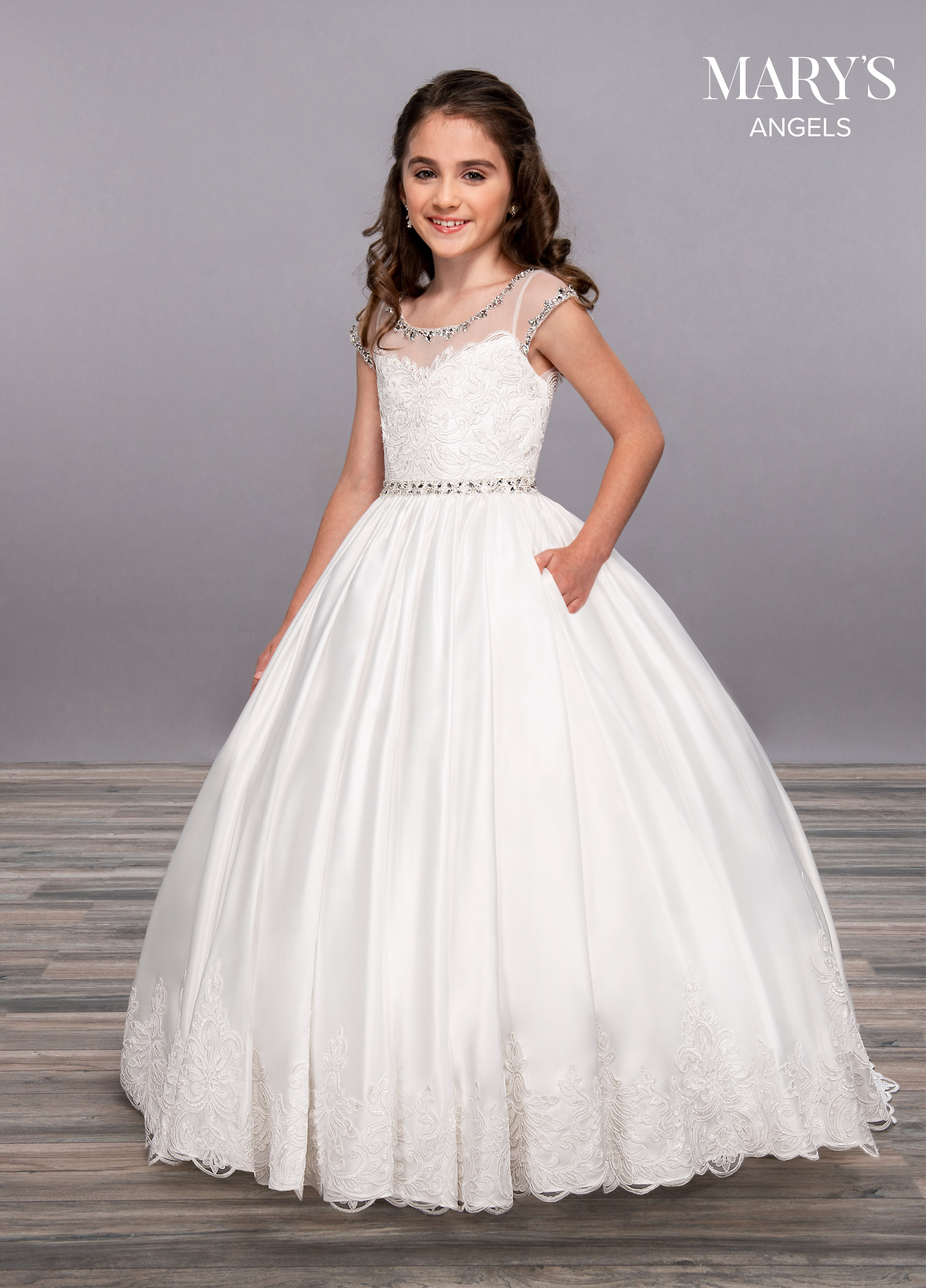 Angel Flower Girl Dresses | Mary's Angels | Style - MB9054