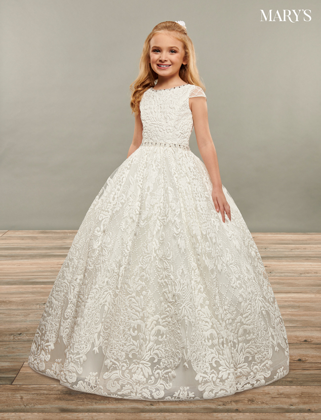 Ivory Color Angel Flower Girl Dresses - Style - MB9065