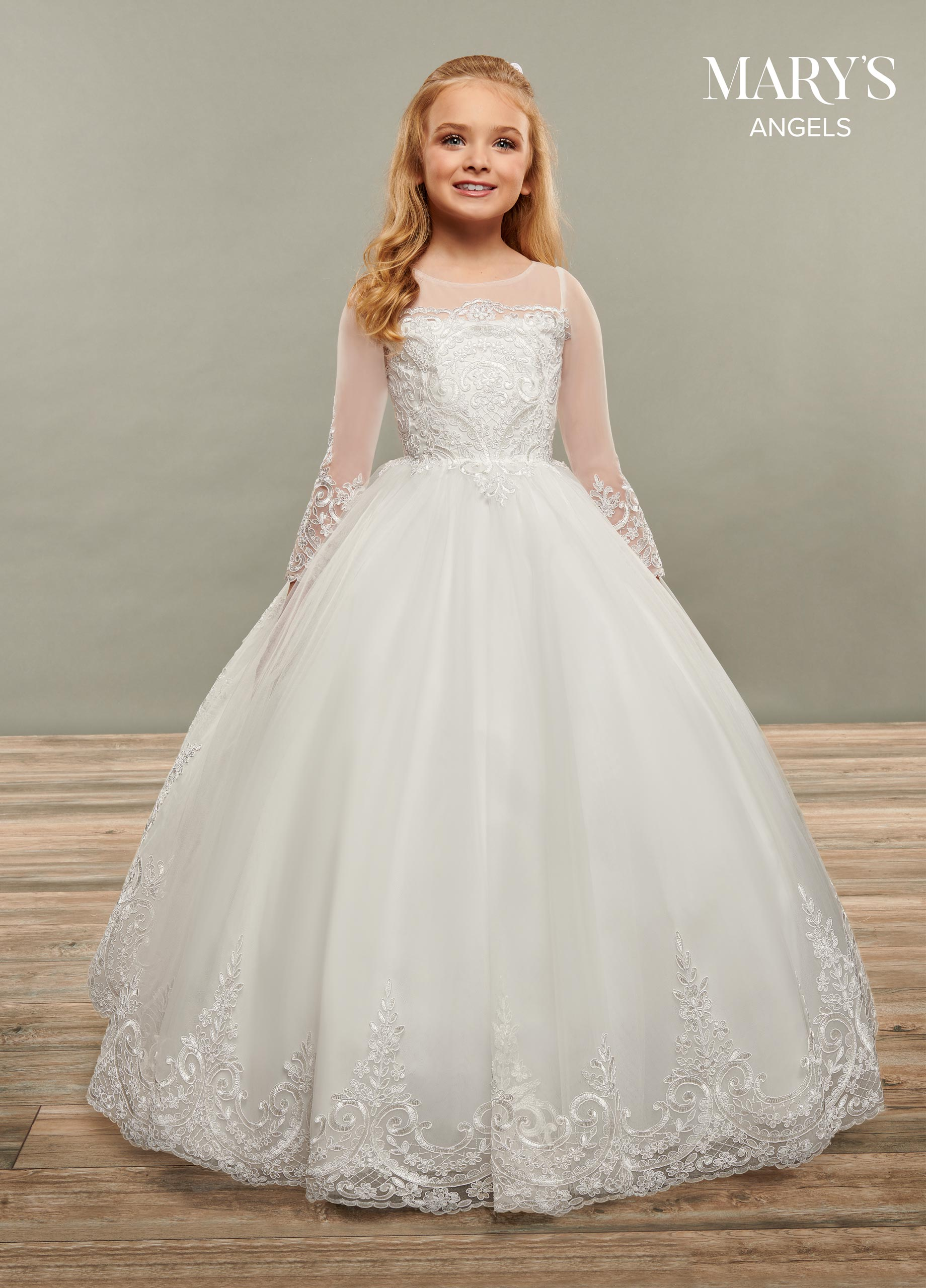Angel Flower Girl Dresses | Mary's Angels | Style - MB9066