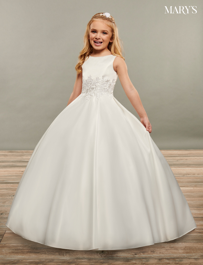 Ivory Color Angel Flower Girl Dresses - Style - MB9067