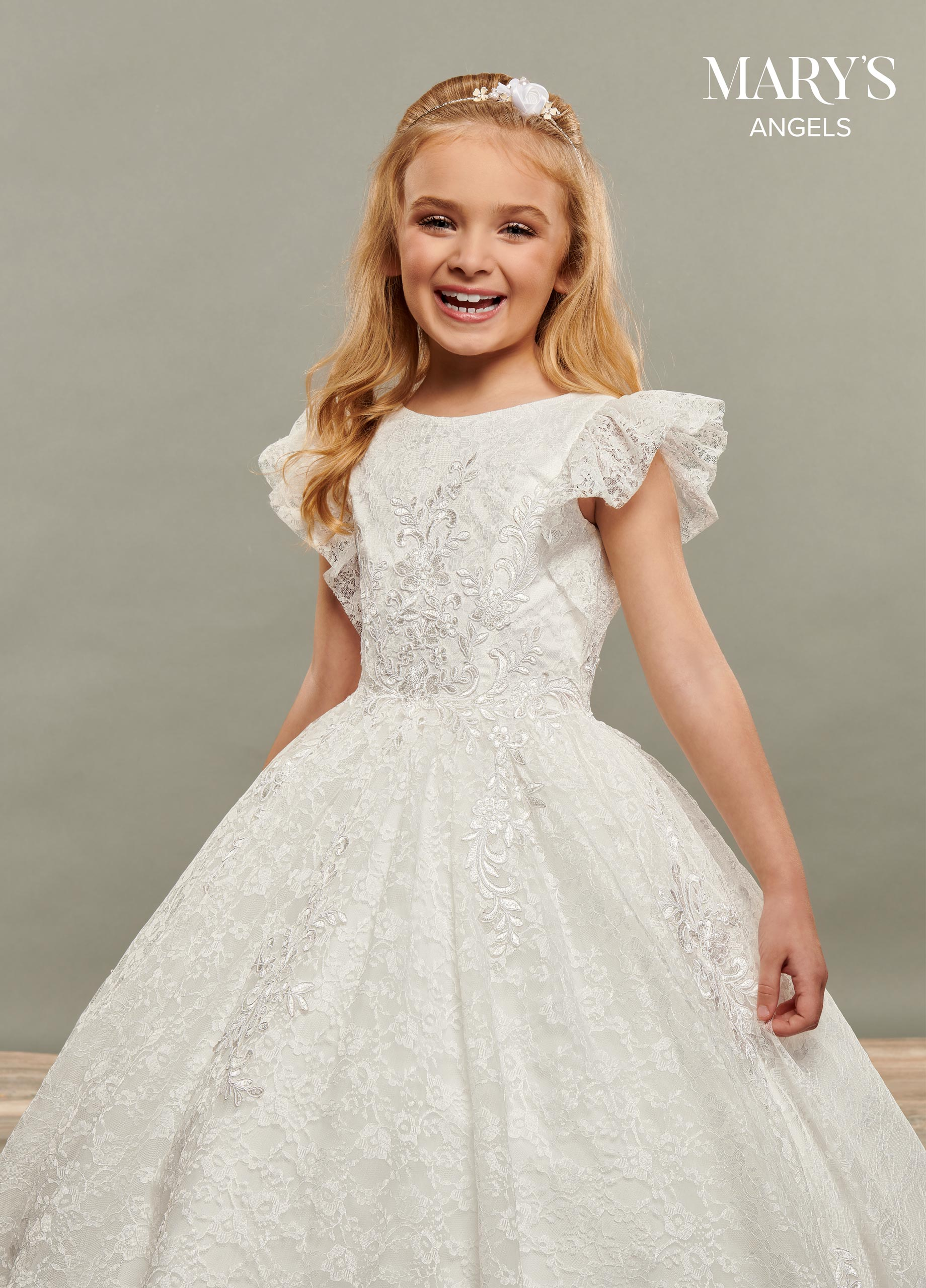 Angel Flower Girl Dresses | Mary's Angels | Style - MB9068