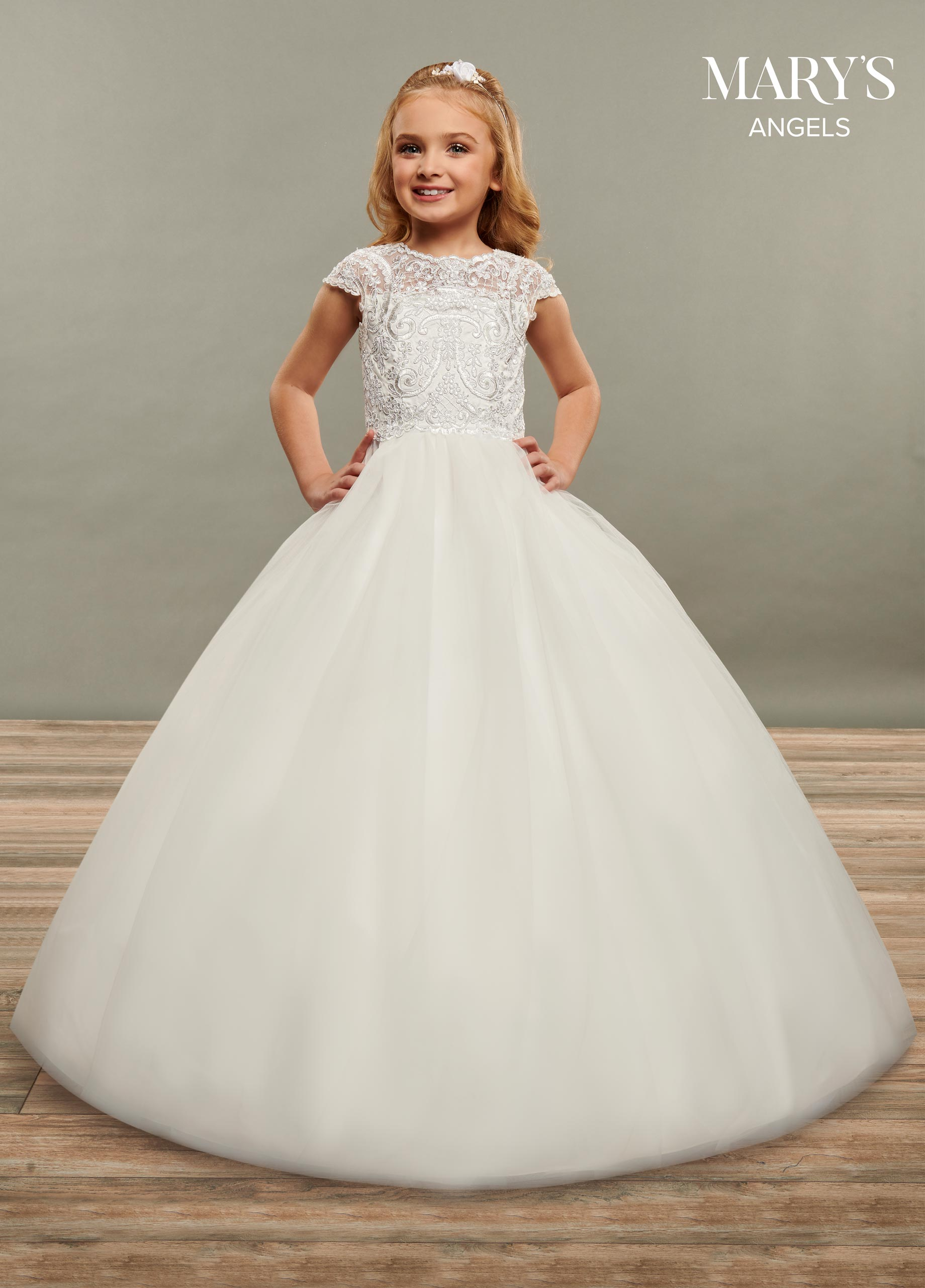 Angel Flower Girl Dresses | Mary's Angels | Style - MB9069