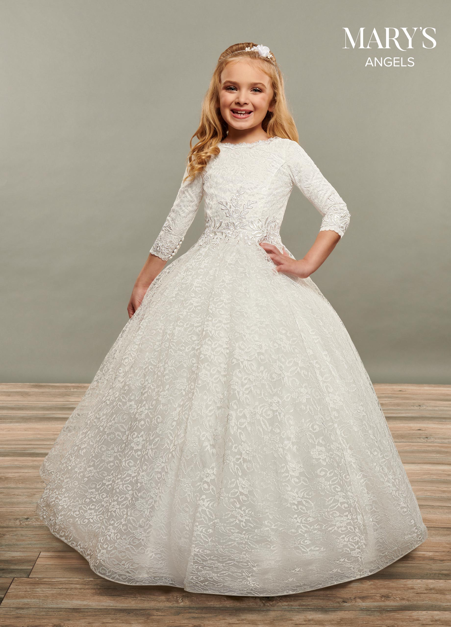 Angel Flower Girl Dresses | Mary's Angels | Style - MB9072