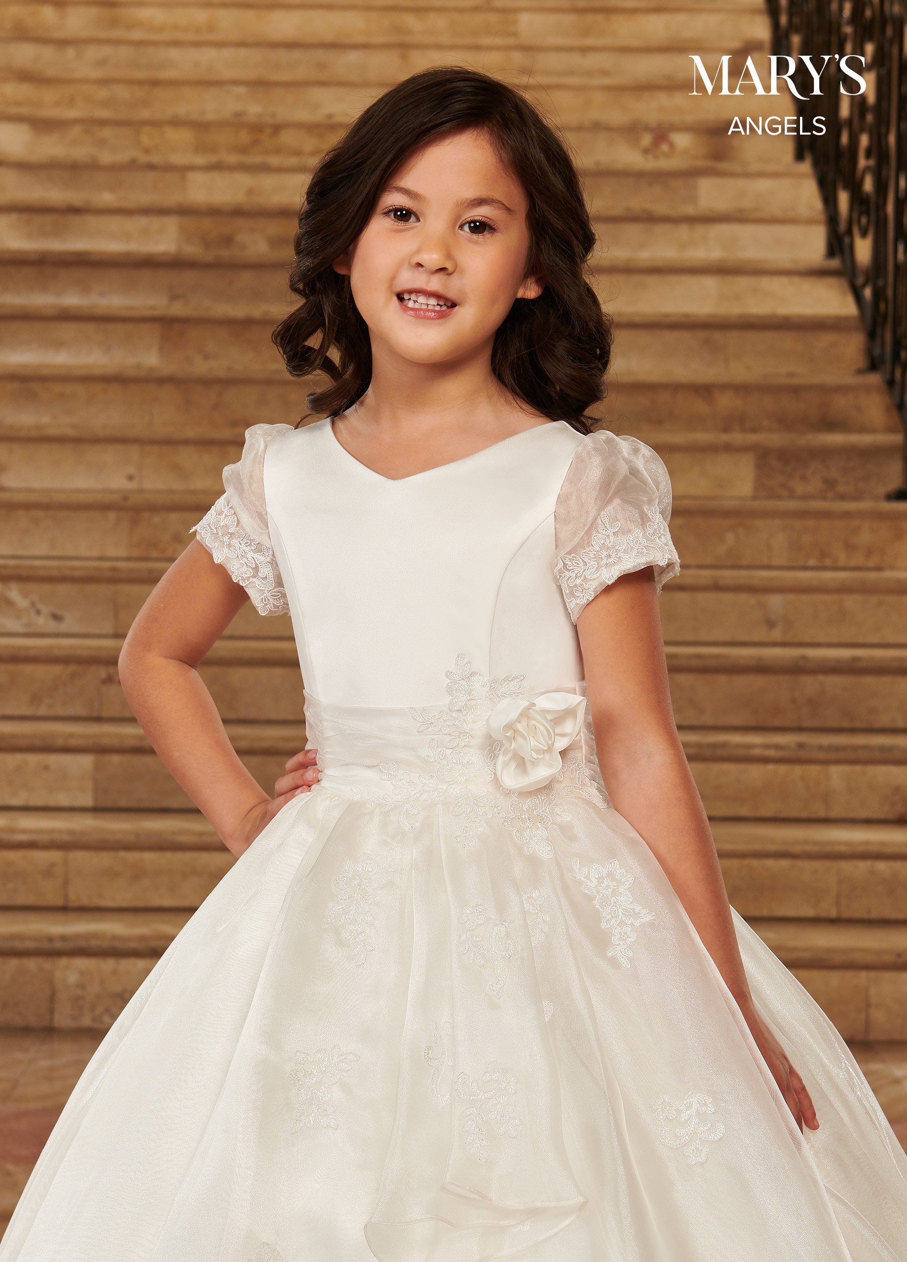 Angel Flower Girl Dresses | Mary's Angels | Style - MB9074