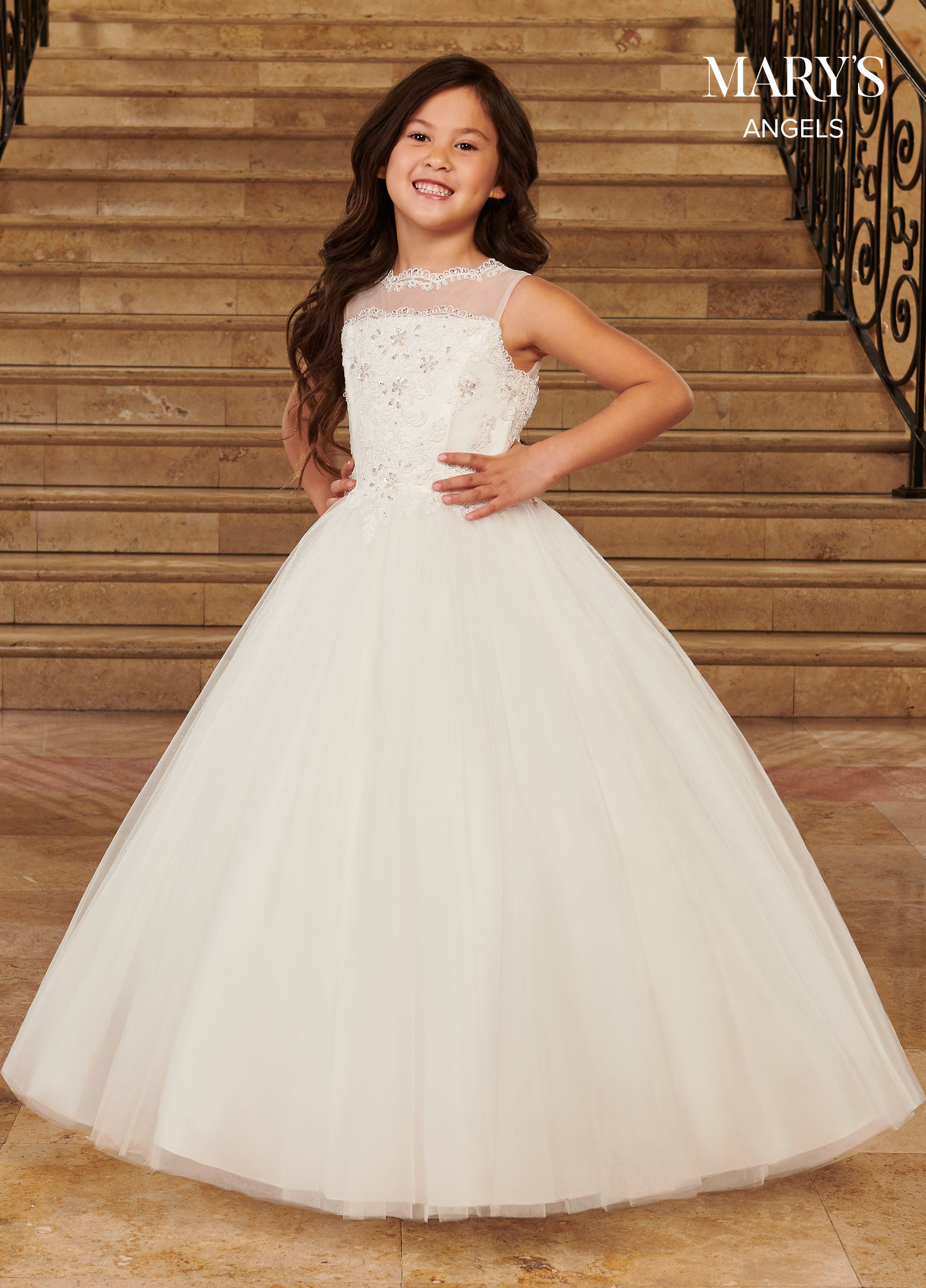 Angel Flower Girl Dresses   Mary's Angels   Style - MB9075