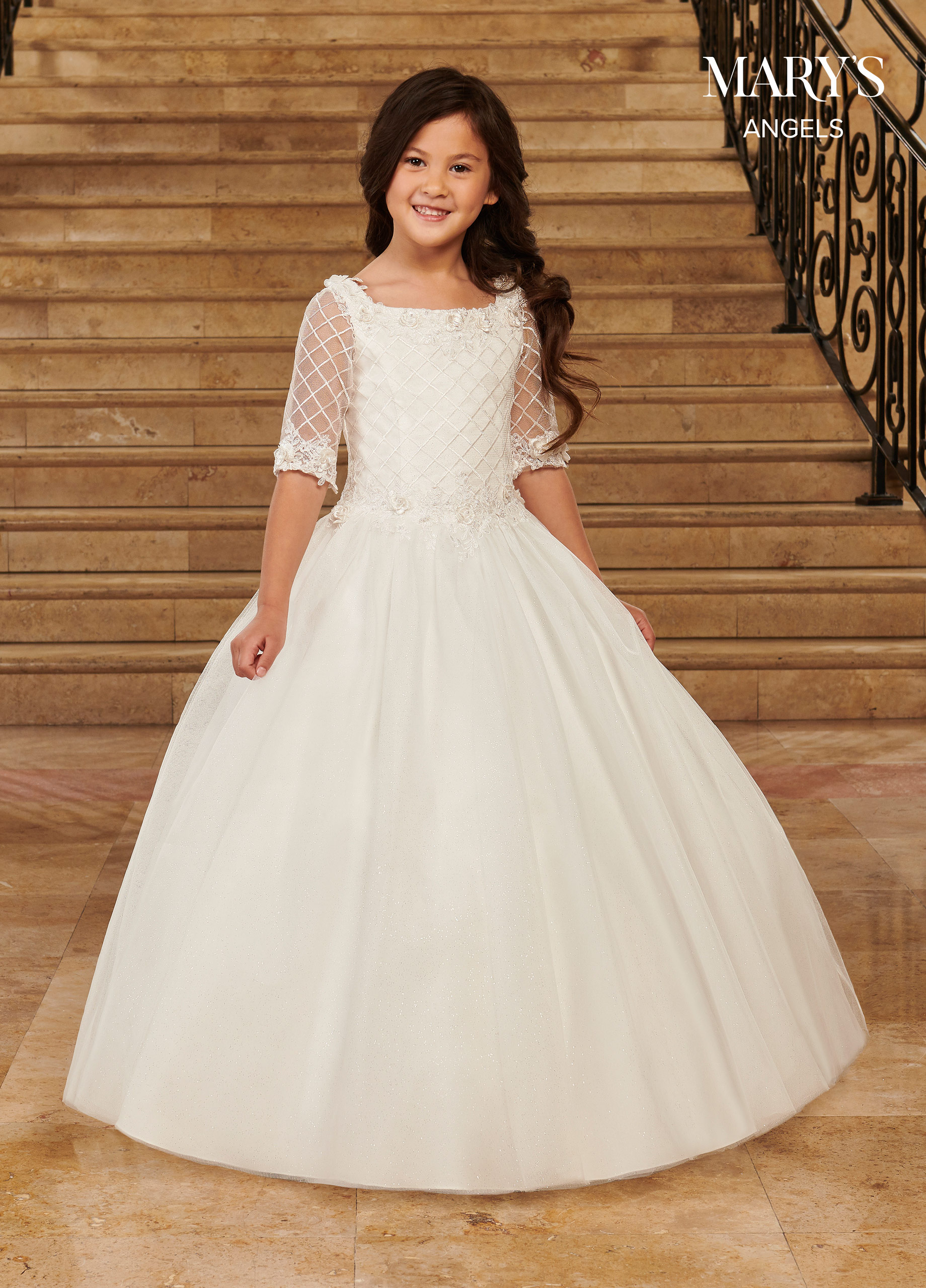 Angel Flower Girl Dresses   Mary's Angels   Style - MB9076