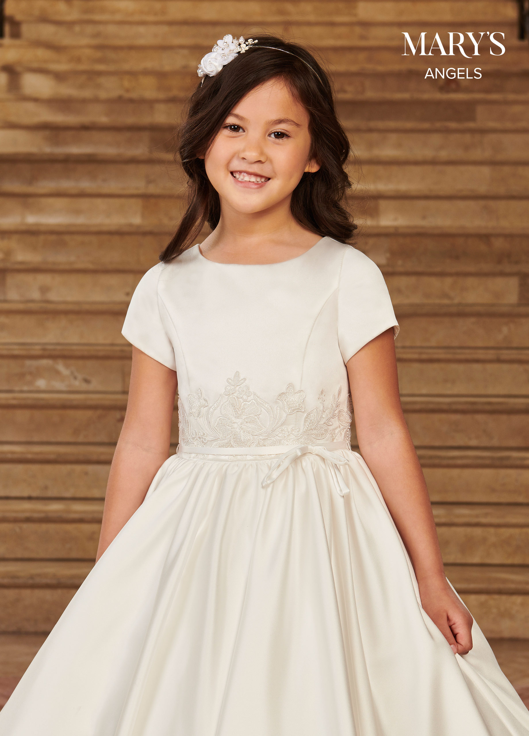Angel Flower Girl Dresses | Mary's Angels | Style - MB9077