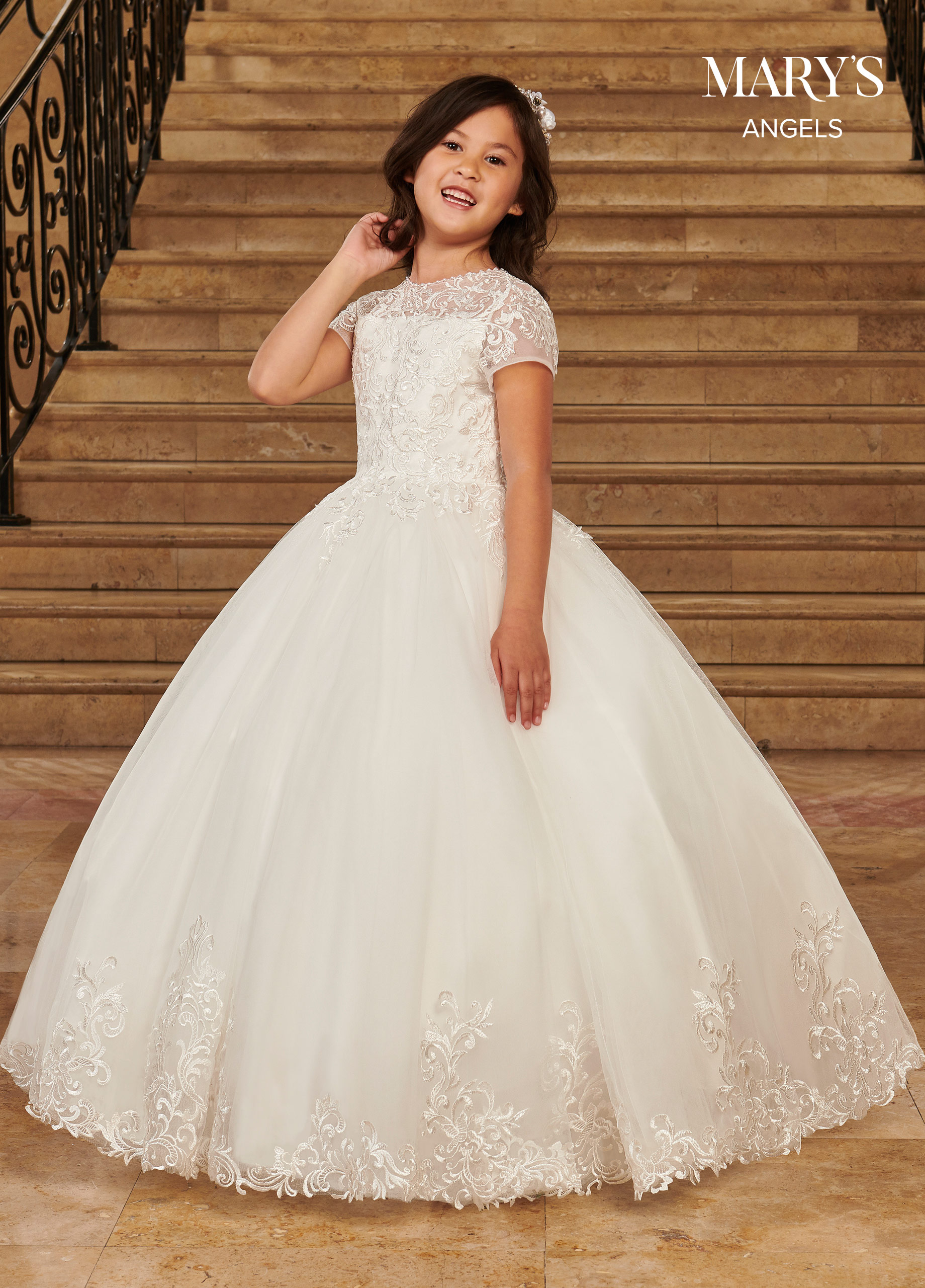 Angel Flower Girl Dresses | Mary's Angels | Style - MB9079