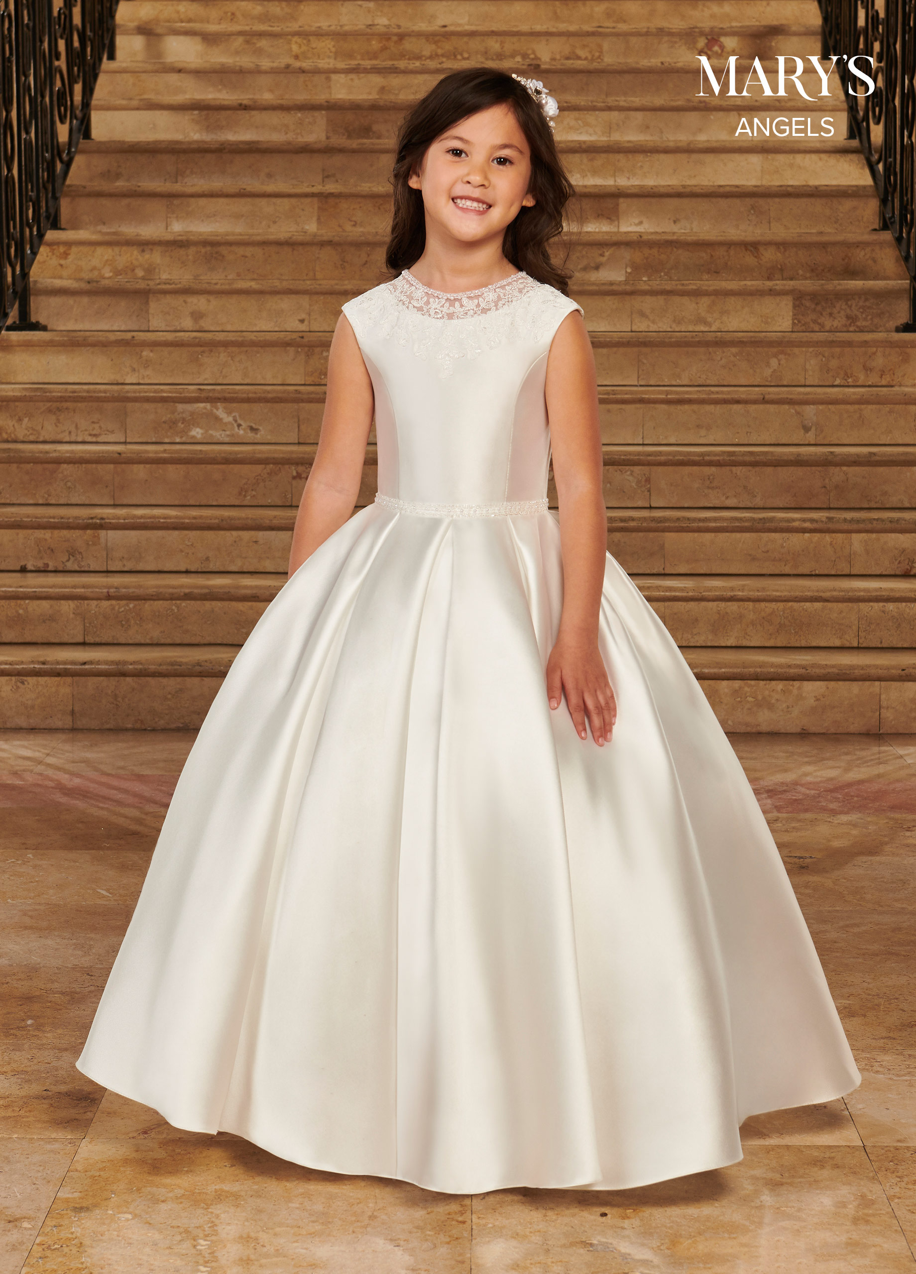 Angel Flower Girl Dresses   Mary's Angels   Style - MB9080
