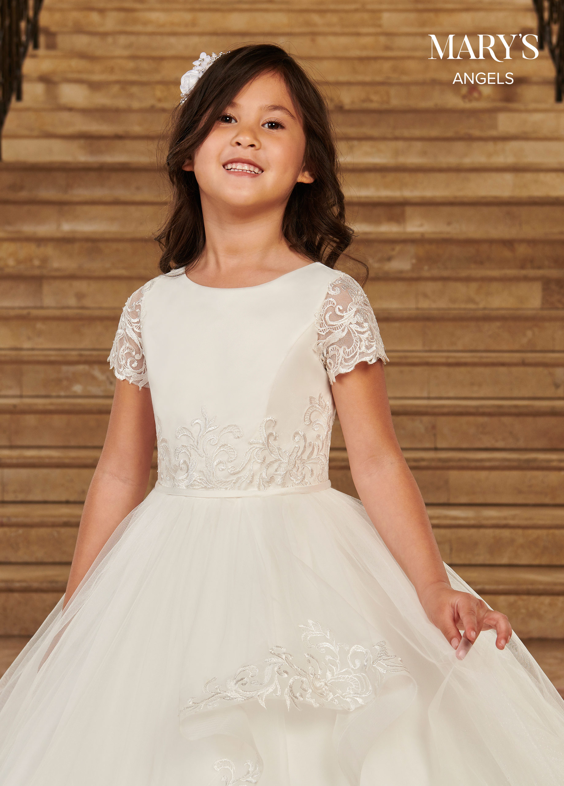 Angel Flower Girl Dresses | Mary's Angels | Style - MB9081