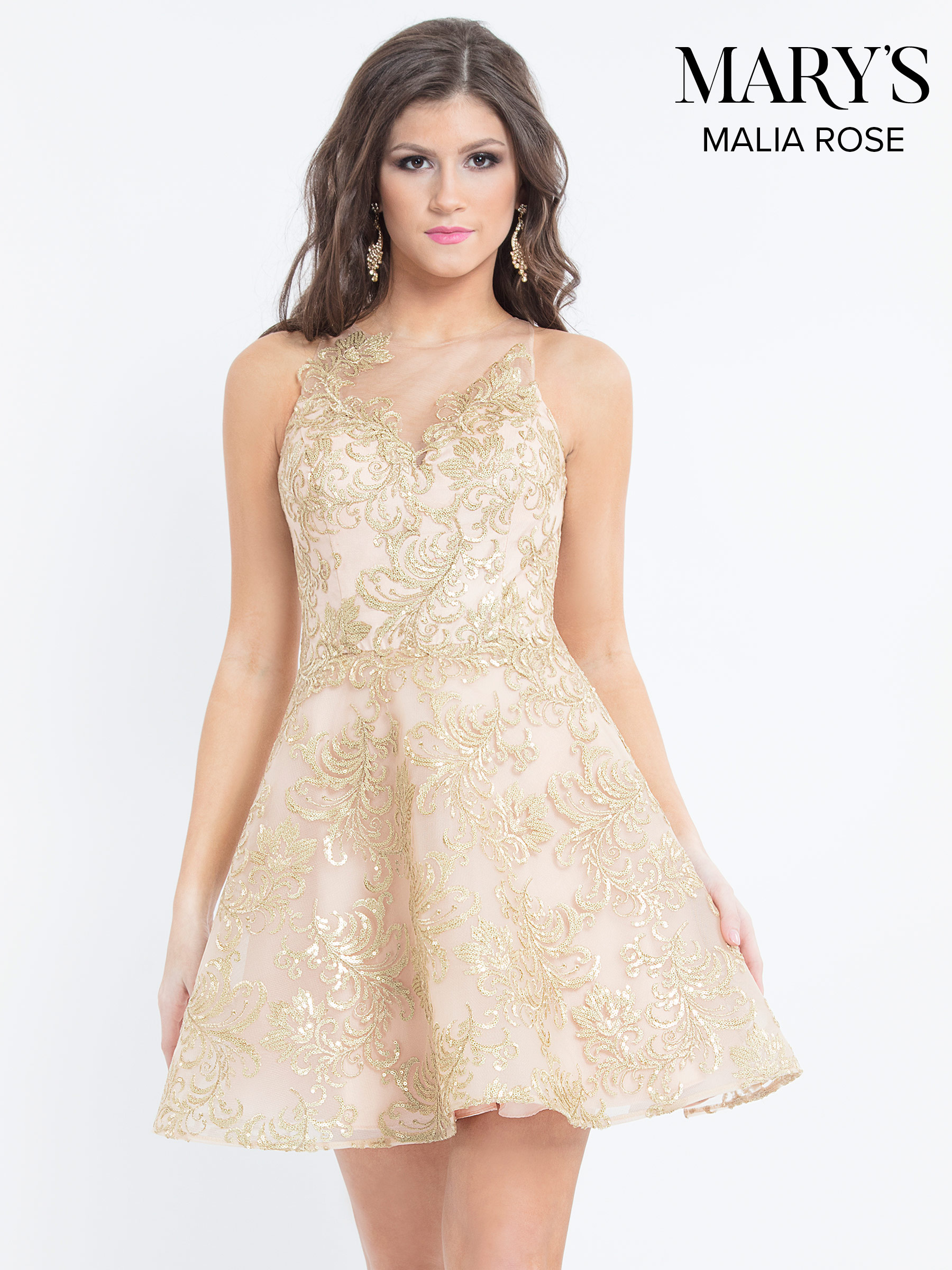 Quinceanera Short Dresses | Mary's Damas | Style - MP1094