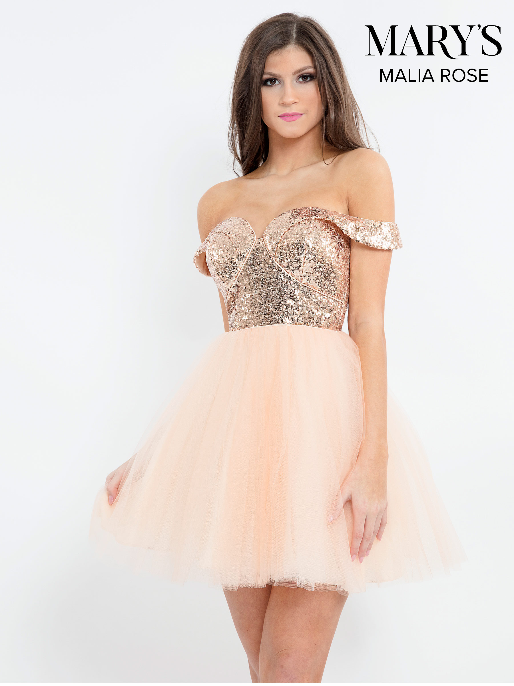 Quinceanera Short Dresses   Mary's Damas   Style - MP1104