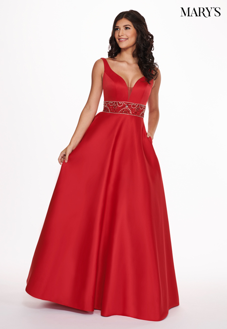 Red Color Malia Rose Prom Dresses - Style - MP1120