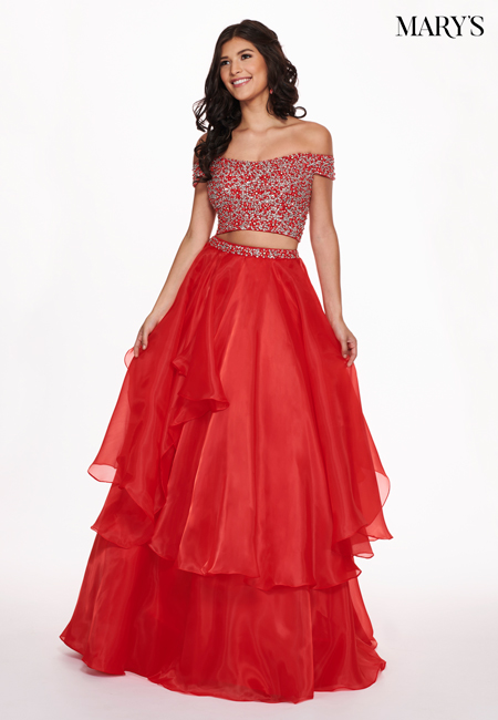 Red Color Malia Rose Prom Dresses - Style - MP1126