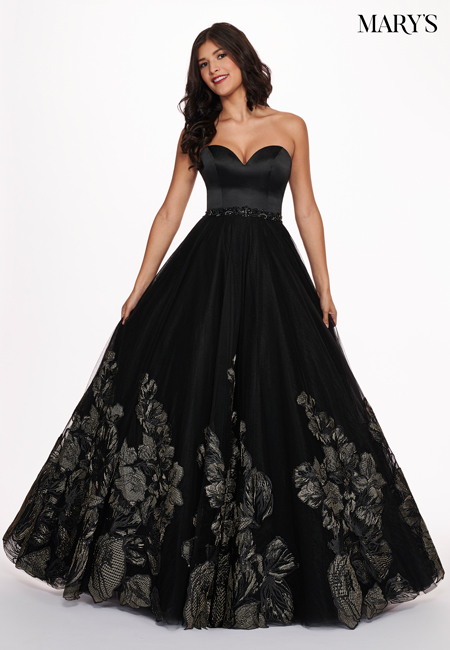Black Color Malia Rose Prom Dresses - Style - MP1135