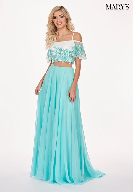 Blush Color Malia Rose Prom Dresses - Style - MP1143