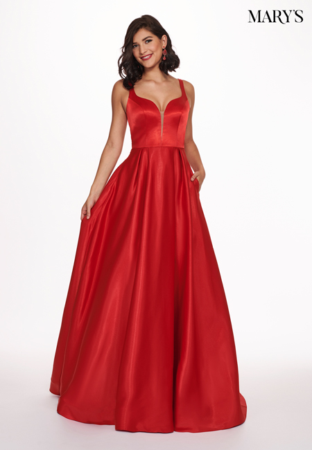 Red Color Malia Rose Prom Dresses - Style - MP1147