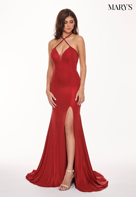 Red Color Malia Rose Prom Dresses - Style - MP1152