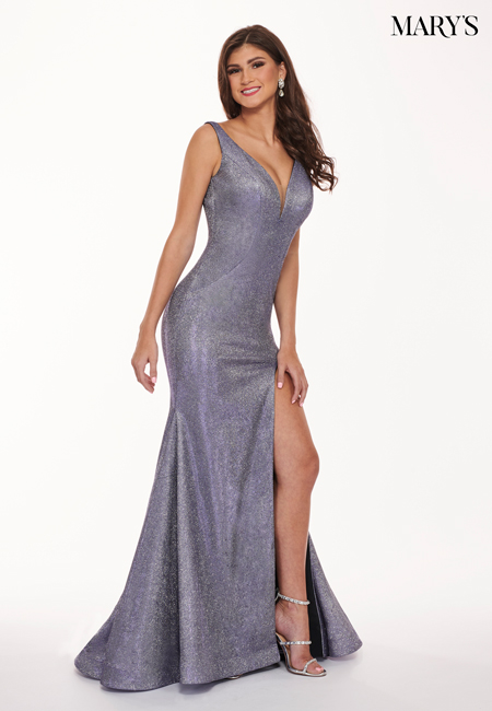 Lilac Color Malia Rose Prom Dresses - Style - MP1154