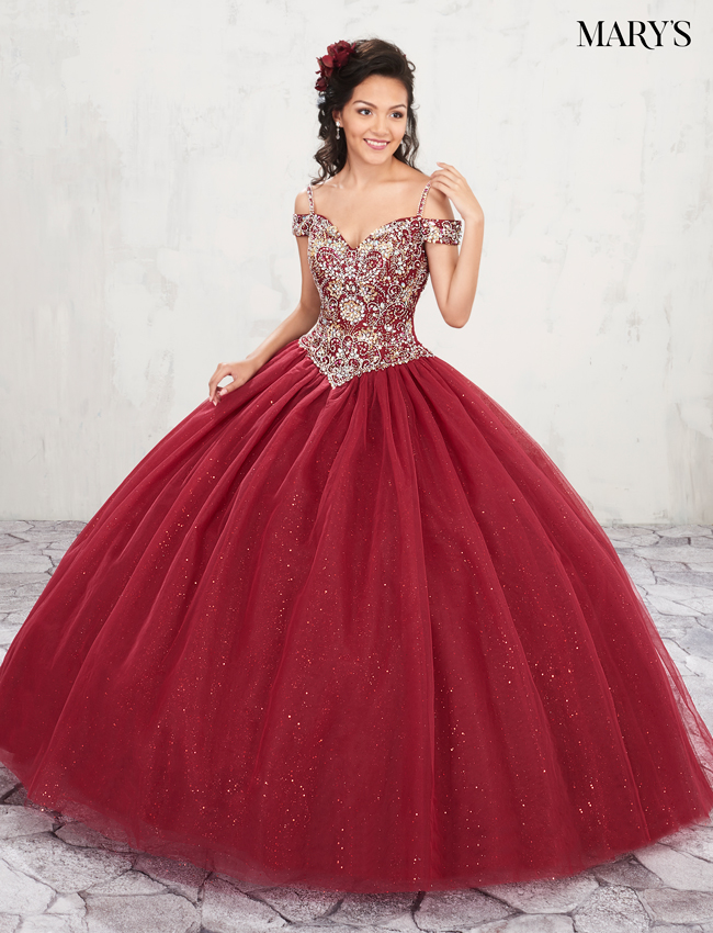 Color Marys Quinceanera Dresses - Style - MQ1001