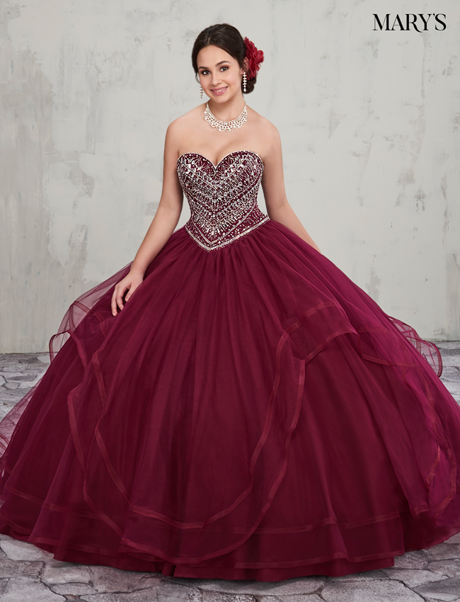 Color Marys Quinceanera Dresses - Style - MQ1003
