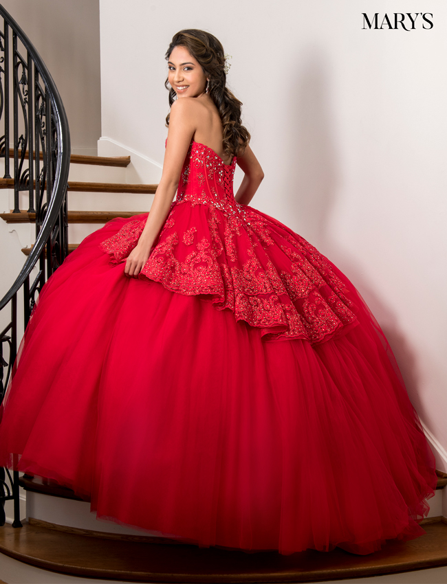 Indigo - quince Color Marys Quinceanera Dresses - Style - MQ1021
