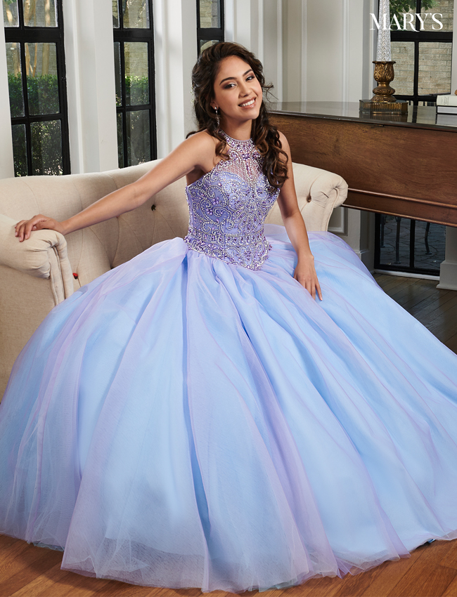 Cotton Candy Color Marys Quinceanera Dresses - Style - MQ1022