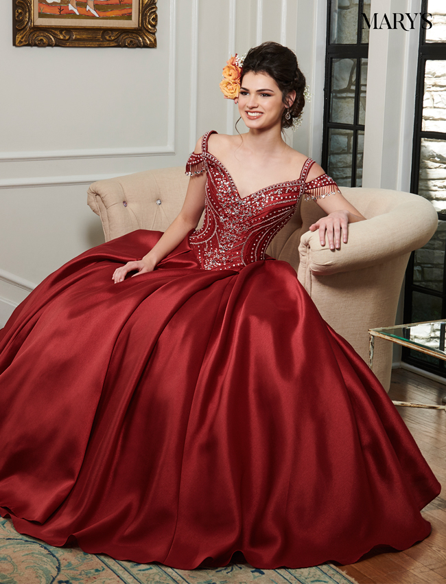 329c9b1b2d7 Color Marys Quinceanera Dresses - Style - MQ1024